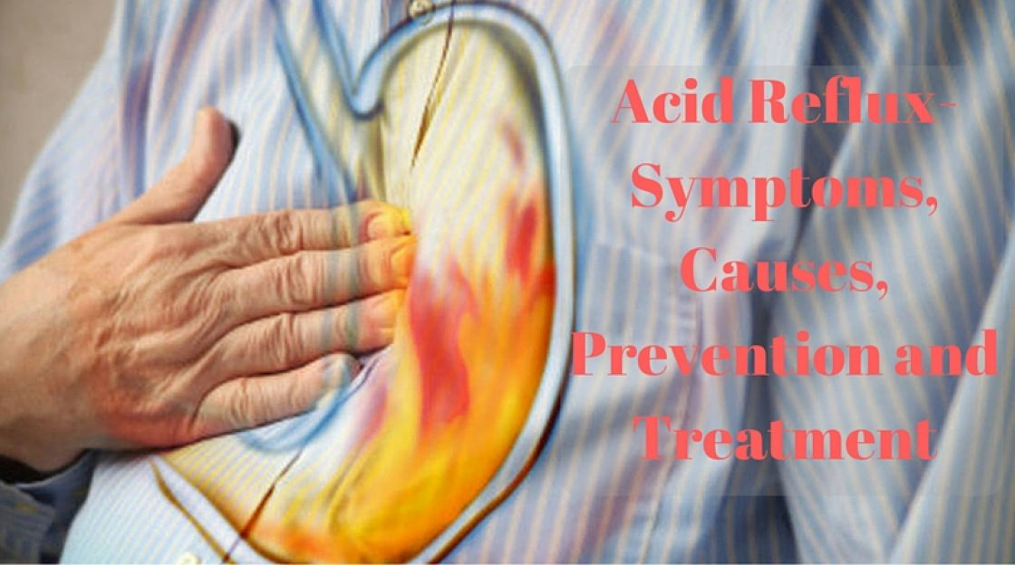Acid Reflux- Symptoms, Causes, Prevention and Treatment