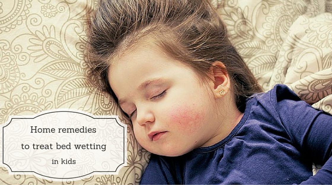 Home Remedies to Treat Bedwetting in Kids