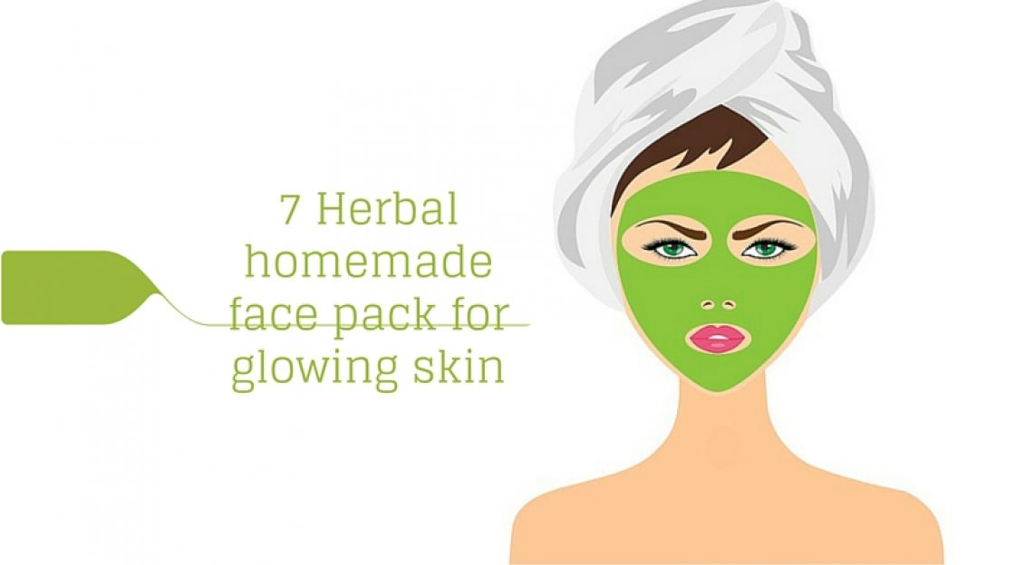 7 Herbal Homemade Face Pack for Glowing Skin