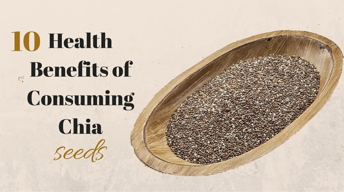 10 Health benefits of consuming Chia Seeds