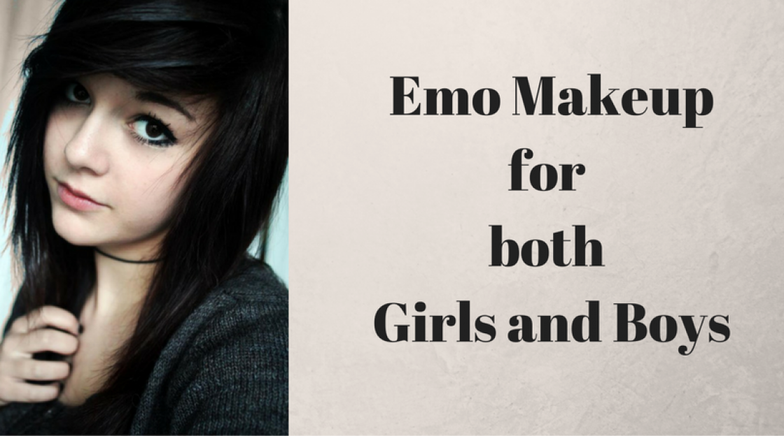 Emo Makeup for both Girls and Boys