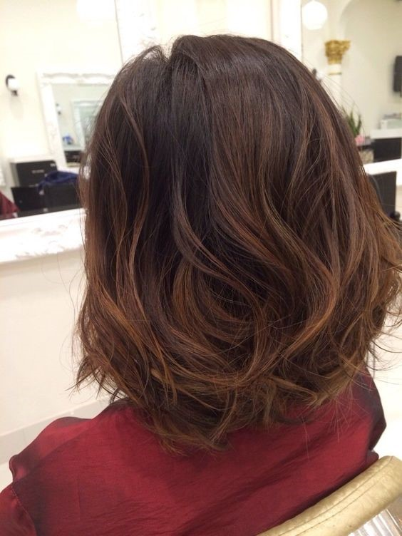 Subtle Caramel Balayage For Short And Black Hairs Health Living